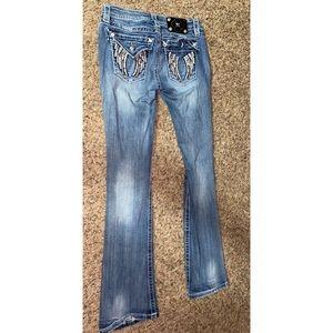 Miss me boot cut jeans!